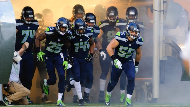 The Seattle Seahawks Team roster