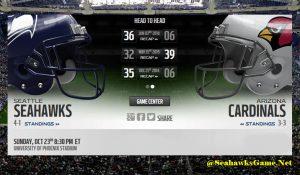 Seattle Seahawks Game Live Score