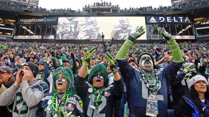 seattle seahawks fans