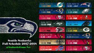 Seattle Seahawks Football Game 2017
