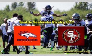 Seattle Seahawks Rivalry 2017